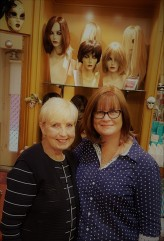 Karen from Bonnies Wigs. Karen looked after me last year too... wonderful woman.