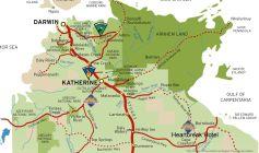 Katherine-Australia-Tourism-Map